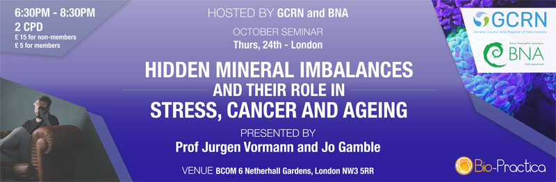 Hidden Mineral Imbalances And Their Role In Stress, Cancer and Ageing